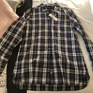 Jcrew tartan plaid shirt